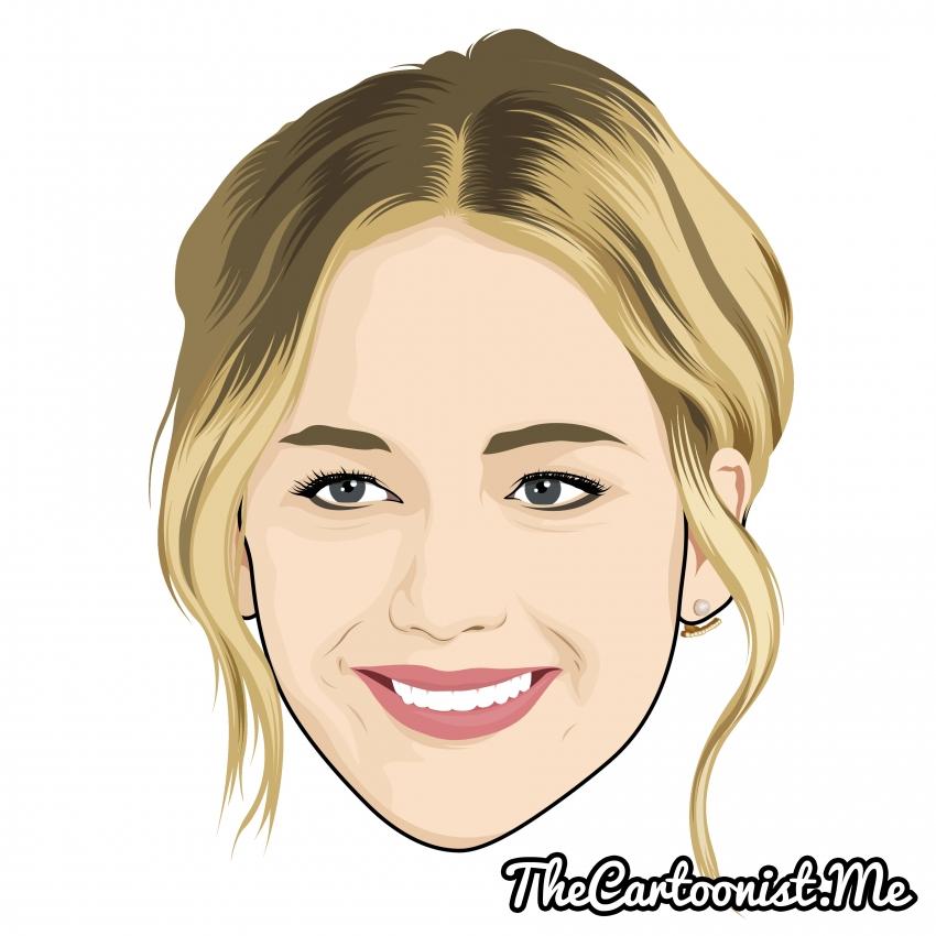 Jennifer Lawrence par TheCartoonist